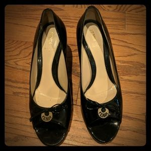 Fendi Peeptoe Pumps Size 40